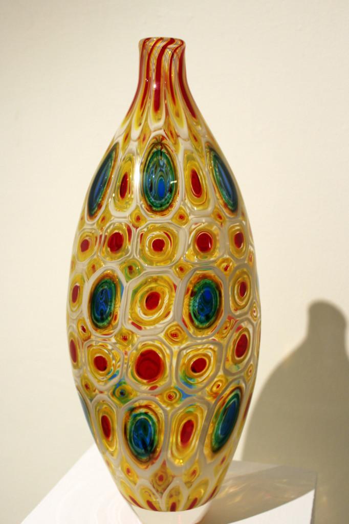 Murrine vessel by Zac Gorell